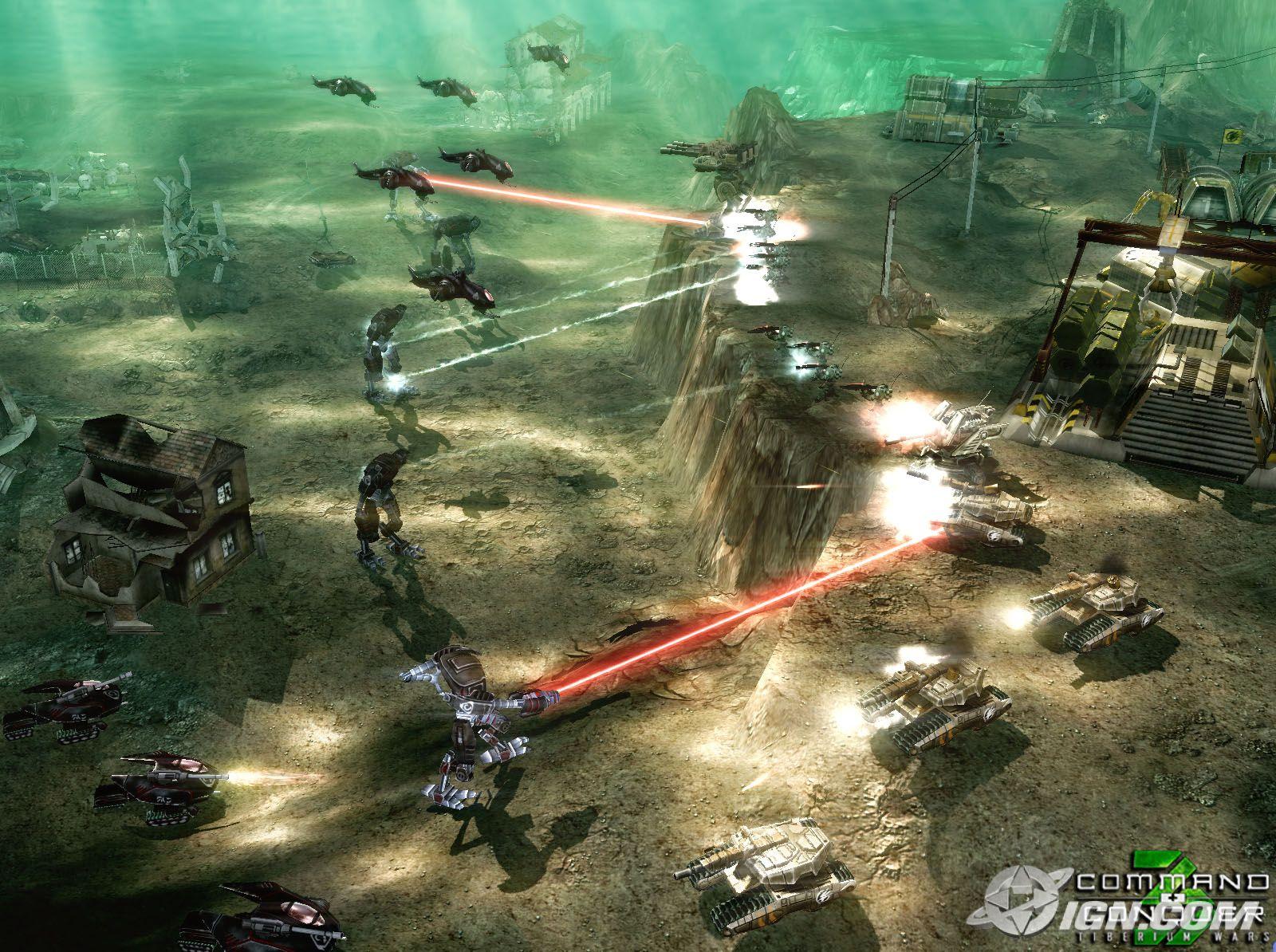 Command & Conquer 3 Tiberium Wars Screenshots.